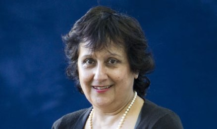 Yasmin Alibhai-Brown | photo by Murdo Macleod w The Guardian