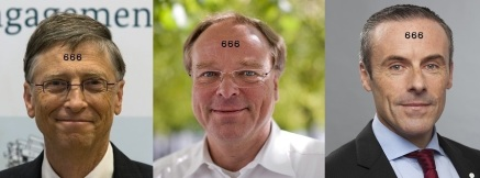 Bill Gates + Dirk Niebel + Liam Condon (http://bit.ly/14uXeoy + http://bit.ly/MCqGiU + http://bit.ly/14uTYtA)