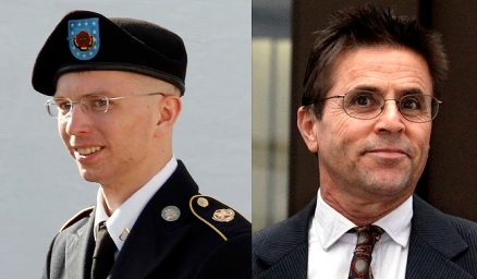 Bradley Manning & Hassan Diab (Manning photo is Reuters file photo)