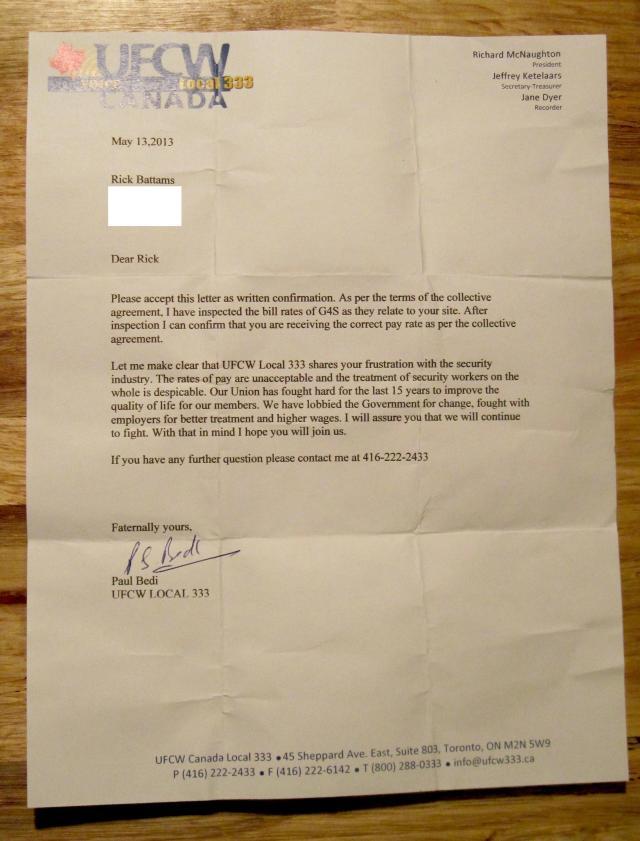 Union letter 2