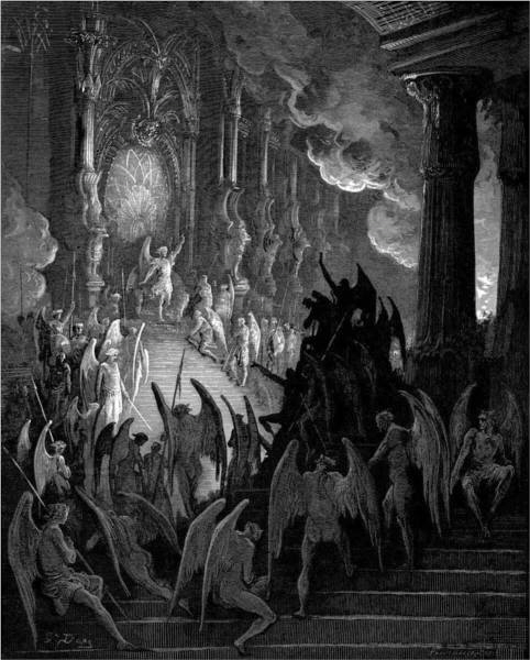 "'Satan In Council', from John Milton's ""Paradise Lost"" / illustration by Gustave Doré"