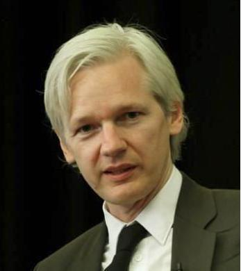 Julian Assange - photo by Graeme Robert