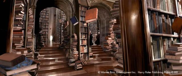 Hogwart's Library