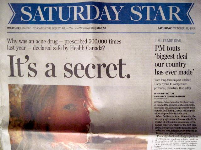 Secrets Toronto Star