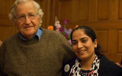 Noam Chomsky and Malalai Joya