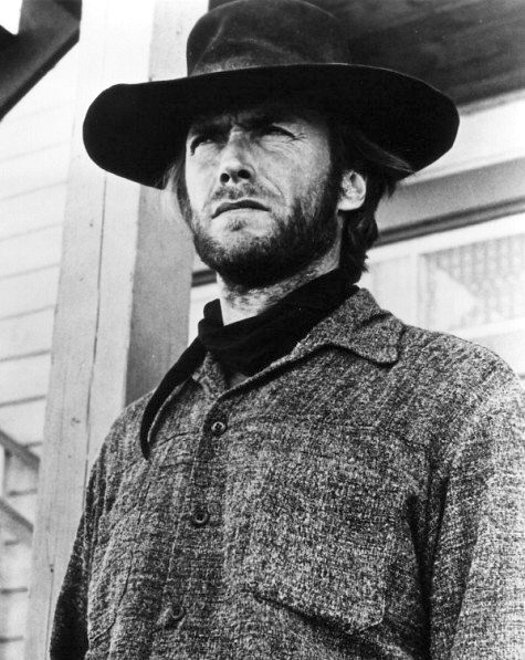 Clint Eastwood as The Stranger