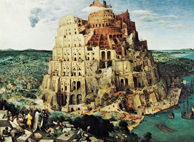 Tower Of Babel - painting by Pieter Brueghel the Elder