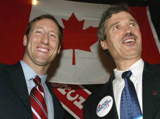 Peter MacKay and David Orchard, who Peter betrayed for gain