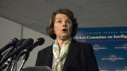 Diane Feinstein /  photo by Molly Riley