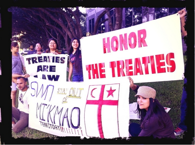 Idle No More - Honor The Treaties (Good luck with that. We have 'law & order' governments!)