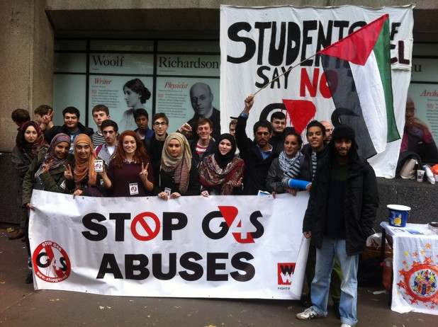 Kings College London Action Palestine
