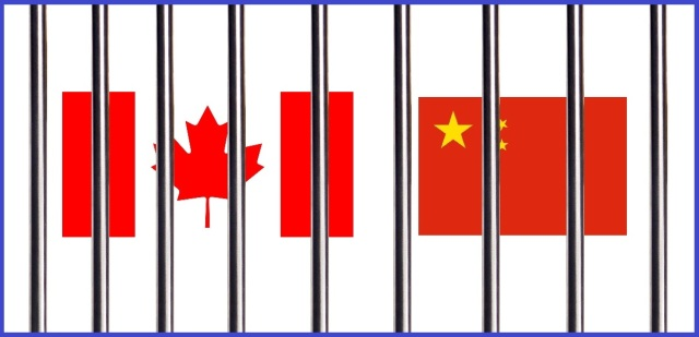 Canada and China in jail