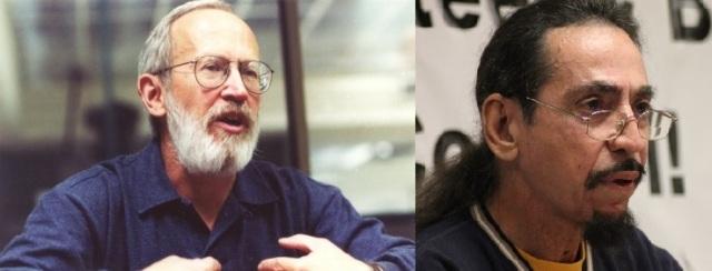 Murray Dobbin (http://bit.ly/1qTowNB) and Glen Ford (http://bit.ly/1tn79eq)