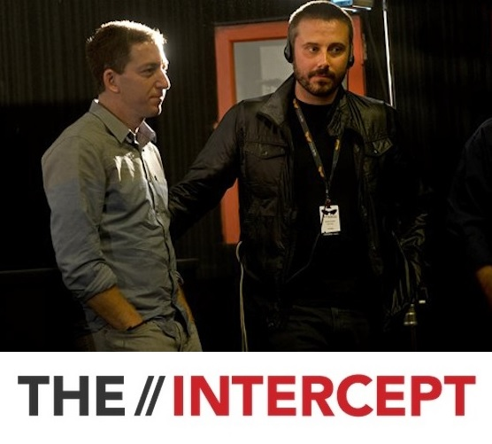 Glenn Greenwald and Jeremy Scahill from The Intercept