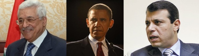 Mahmoud Abbas (http://bbc.in/1KbAqzd) Barack Obama (http://bit.ly/1IbDJCC -?) Muhamad Dahlan (http://bit.ly/1xGuwm9)