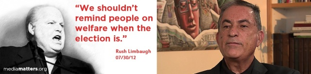 Rush Limbaugh (http://bit.ly/149jpVk)  and Gideon Levy (http://bbc.in/13QEHGF)