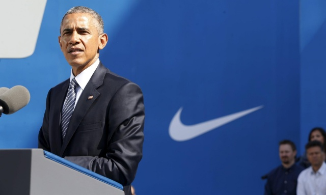 "Barack Obama at Nike HQ disparaging free trade critics /   Jesus Christ, in the Bible book of John, chapter 15, said to his followers: ""If you were part of the world, the world would be fond of what is it's own."" The world approves of Obama. It doesn't approve of those principled people who oppose him and his people-harming neoliberal policies."