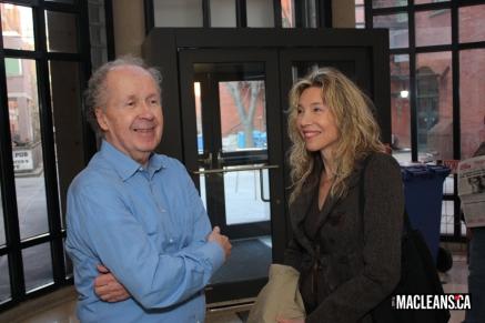 Duncan Cameron and Linda McQuaig