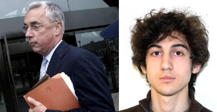 Judge George A. O'Toole (http://bit.ly/1zQwmRq)  and Dzhokhar Tsarnaev