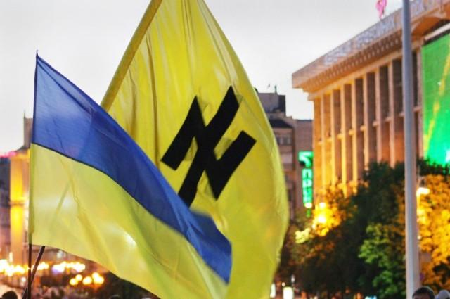 The Nazi Wolfsangel in Ukraine