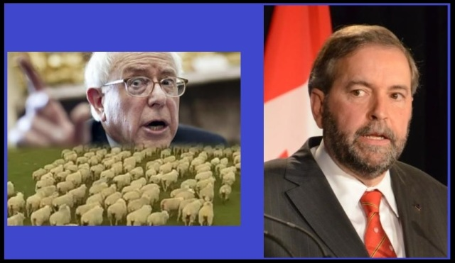 Bernie Sanders (http://bit.ly/1KJ00bS) and Thomas Mulcair (http://bit.ly/1hDw2PU)