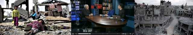 Gaza Post 2014 and Chomsky's discussion of the US support for the Israeli occupation of Gaza