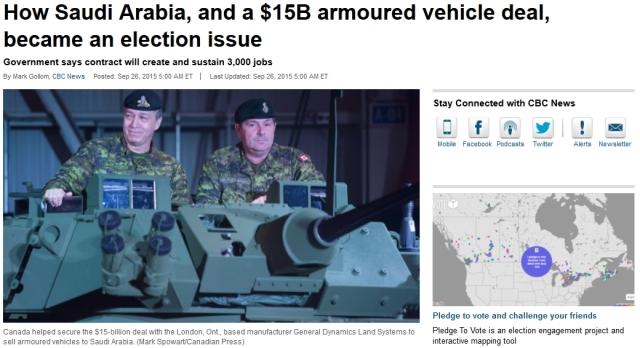 CBC Saudi weapons sale article 2