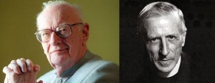 Arthur C. Clarke (http://bit.ly/1RA1oWj) and Pierre Teilhard de Chardin (http://bit.ly/1mvXlh2)