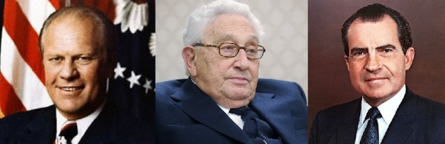 Gerald Ford (http://bit.ly/22SUZIY), Henry Kissinger (http://bit.ly/1qarcgT), Richard Nixon (http://theatln.tc/1RvHw2v)