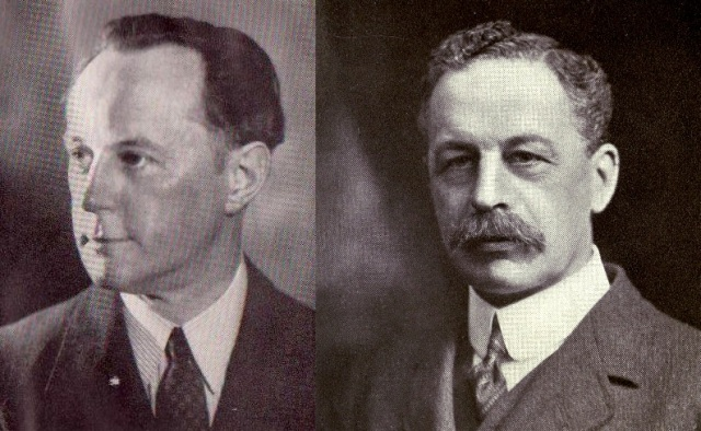 Nicholas John Spykman and Sir Halford John Mackinder