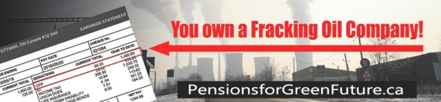 You own a fracking oil company