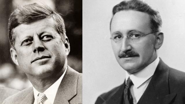 John F. Kennedy (http://huff.to/2eRr15P) and Friedrich A. Hayek (http://bit.ly/2eFTyee)