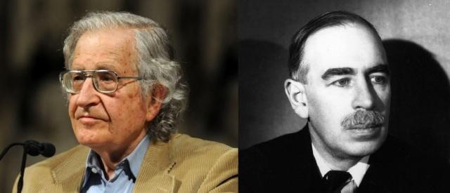 Noam Chomsky (http://bit.ly/2eF6hRb) and John Maynard Keynes (http://bit.ly/2eLm3bd)