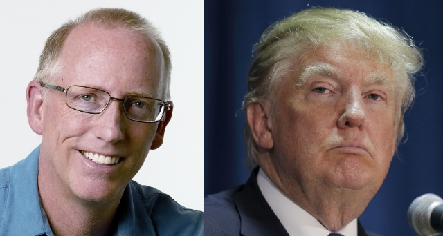 Scott Adams (http://bit.ly/2eR4C7h) and Donald Trump (http://bit.ly/2eLzBmX)