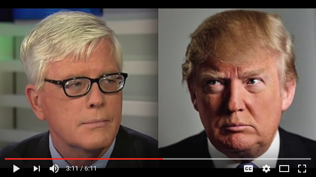 Hugh Hewitt and Donald Trump (YouTube screenshot)